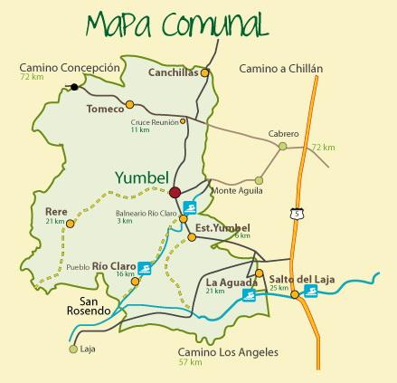 Mapa Yumbel