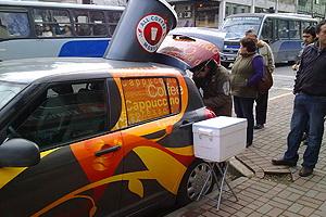 Café sobre ruedas en Concepción