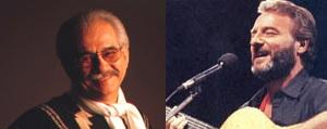 Tito Fernández y Patricio Manns