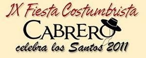 Cabrero Celebra Los Santos