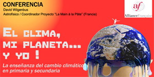 Conferencia el clima, mi planeta y yo