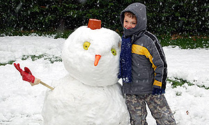 Antuco Muñeco de Nieve