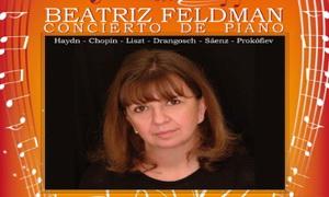 Concierto en piano, Beatriz Feldman