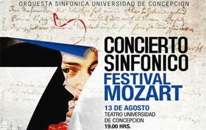 """Concierto Sinfónico """"Festibal Mozart"""""""