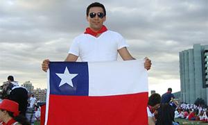 Chilenos en Jornada Mundial de la Juventud, Madrid 2011