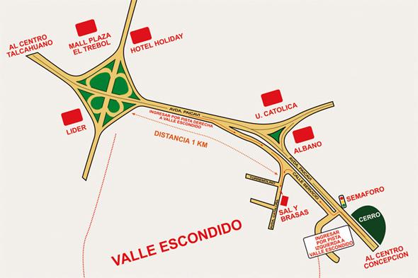 Mapa Restaurant Sal y Brasas