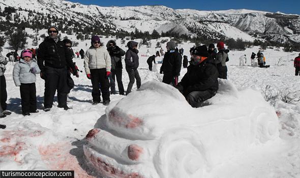 Concurso Muñecos de Nieve 2012 Antuco