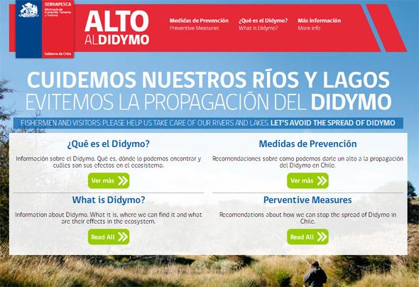 Didymo Chile