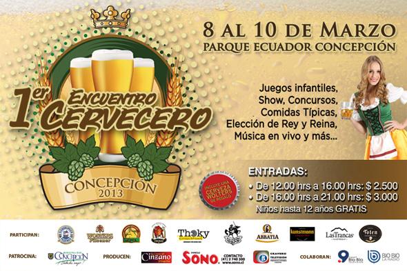 Encuentro Cervecero Concepción 2013