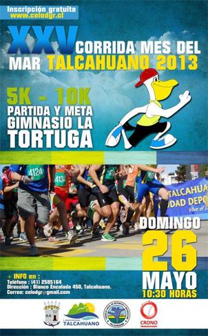 Corrida Talcahuano 2013