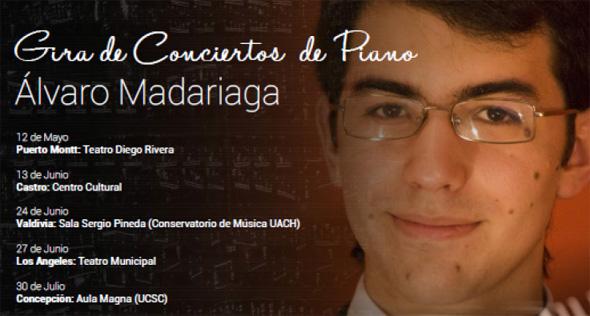 Álvaro Madariaga en Concepción