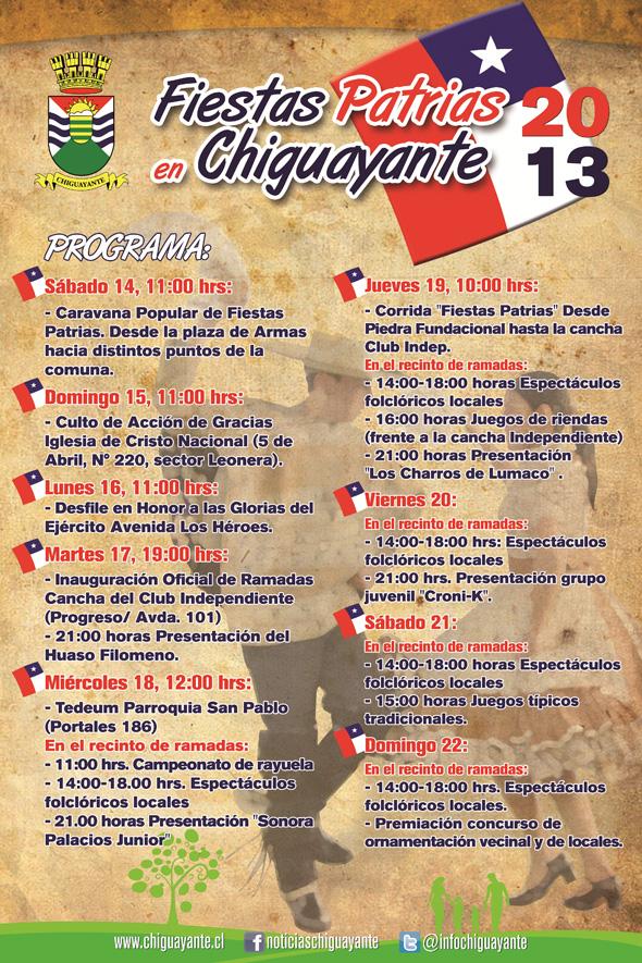Fiestas Patrias Chiguyante 2013