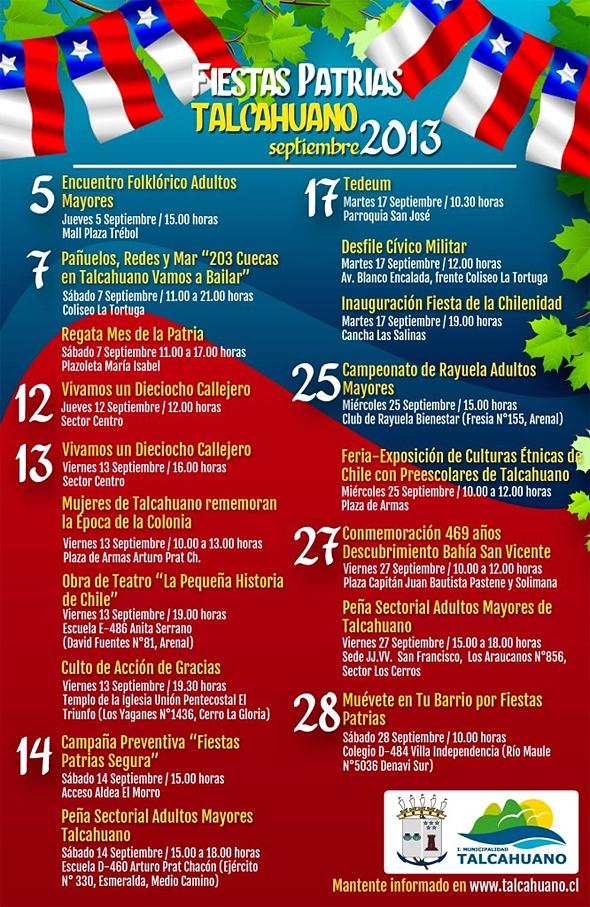 Fiestas Patrias Talcahuano