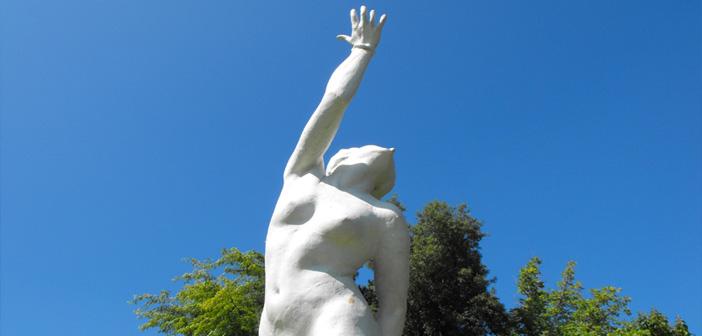 Escultra Universidad de Concepción