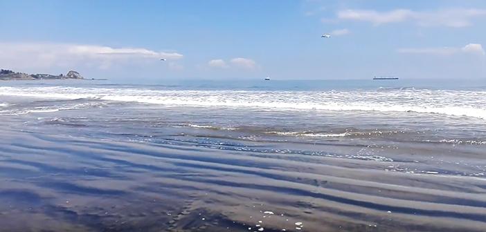 Mar en Coronel