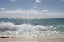 Oleaje Playa Blanca Coronel