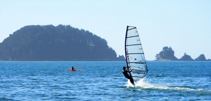 Windsurf en Dichato