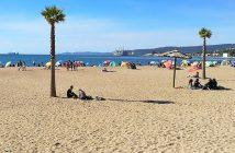 Vista Panorámica de Playa de Penco